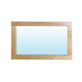 Zrcadlo smrk 85x45cm
