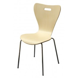 Židle chrom-lípa JOHANA