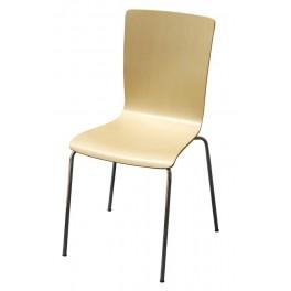 Židle chrom-lípa HELENA