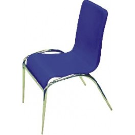 Jídelní židle C-98  tmavě modrá