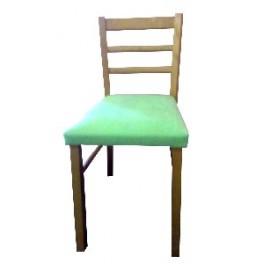 Jídelní židle DOMEKO  zelená