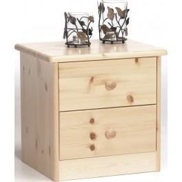 Noční stolek CHELSEA 002  borovice