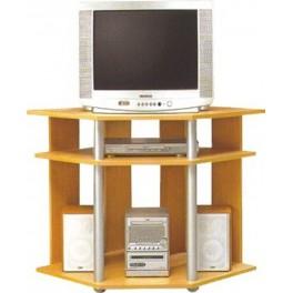 TV stůl PARTITO PLUS buk/hliník