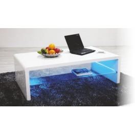 Konferenční stůl SHINING bílý