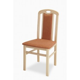 Jídelní židle Laila  buk/cihla 21