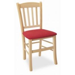 Jídelní židle PAMELA buk / Vera béžová