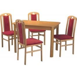 Jídelní stůl MORIS pevný olše